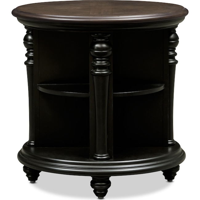 Accent and Occasional Furniture - Charleston Round End Table