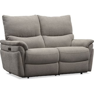 Maddox Triple Power Reclining Loveseat