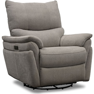 Maddox Triple-Power Reclining Swivel Recliner