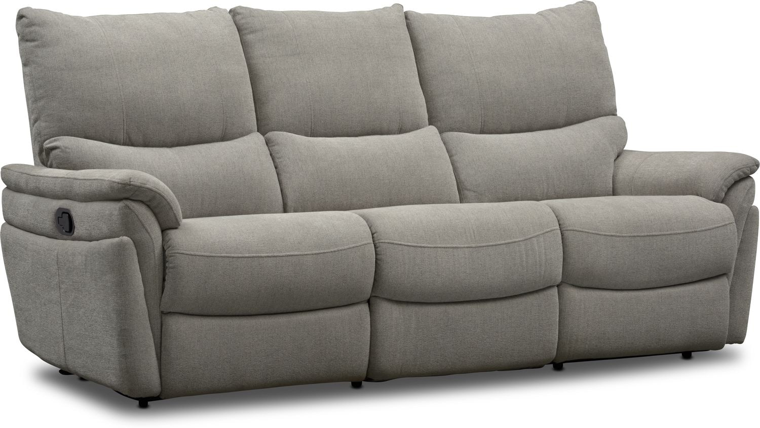 Living Room Furniture - Maddox Manual Reclining 2-Piece Sofa