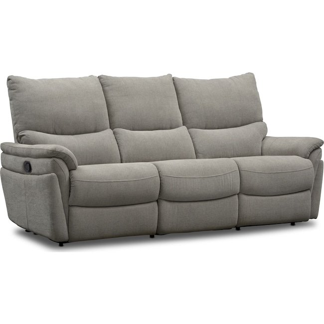 Living Room Furniture - Maddox 2-Piece Manual Reclining Sofa