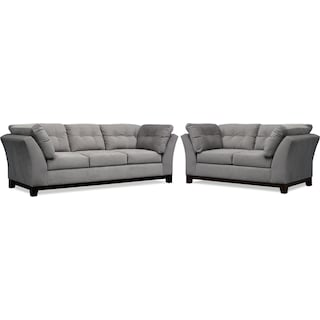 Sebring Sofa and Loveseat Set