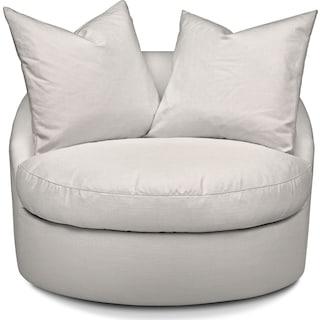 Plush Swivel Chair