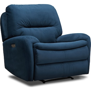 Cruiser Dual Power Recliner - Ink
