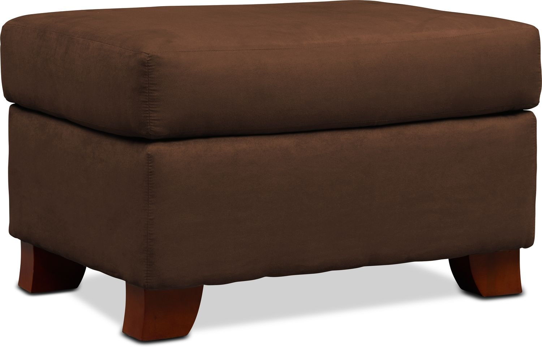 Living Room Furniture - Adrian Ottoman