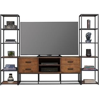 Carter Enteratinment Wall