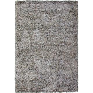 Lifestyle Shag 5' x 8' Area Rug - Silvery Teal