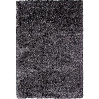 Lifestyle Shag 8' x 10' Area Rug - Charcoal