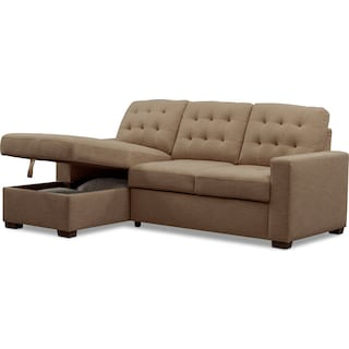 Tap To Change Chatman 2 Piece Sleeper Sectional With Chaise