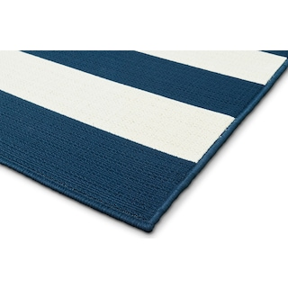 Awning Indoor/Outdoor Rug - Navy