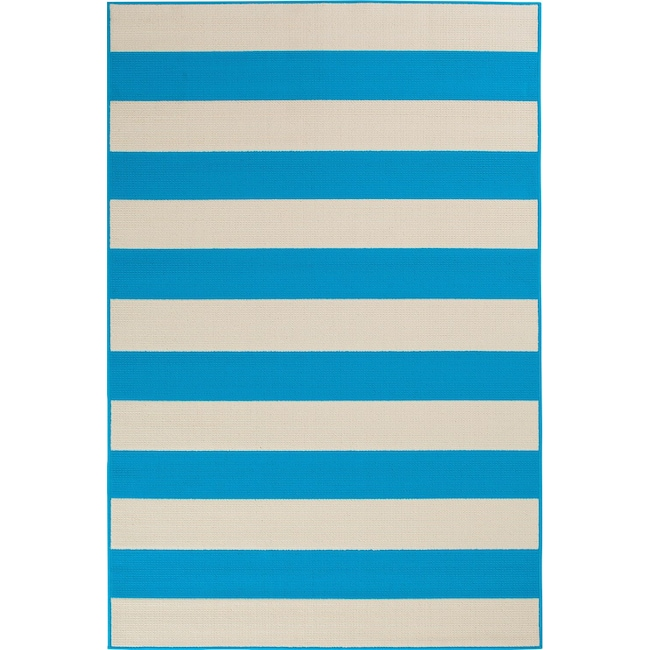 Outdoor Furniture - Awning Indoor/Outdoor Rug - Turquoise
