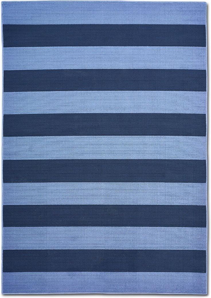 Awning Indoor Outdoor Rug Blue Navy