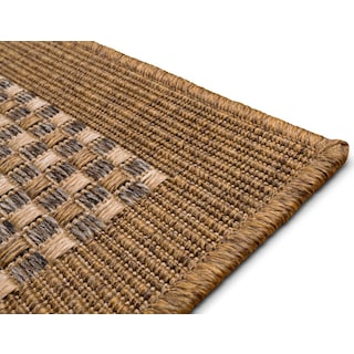 Basket Indoor/Outdoor Rug - Brown