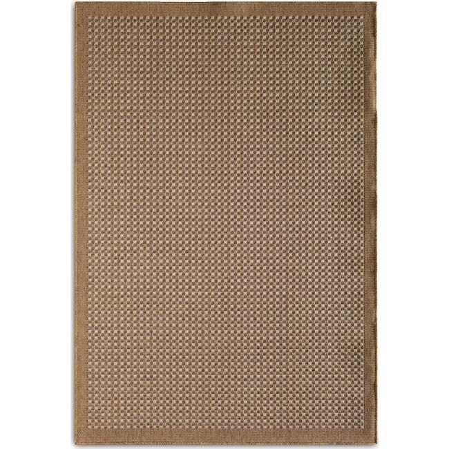 Outdoor Furniture - Basket 9' x 12' Indoor/Outdoor Rug - Brown