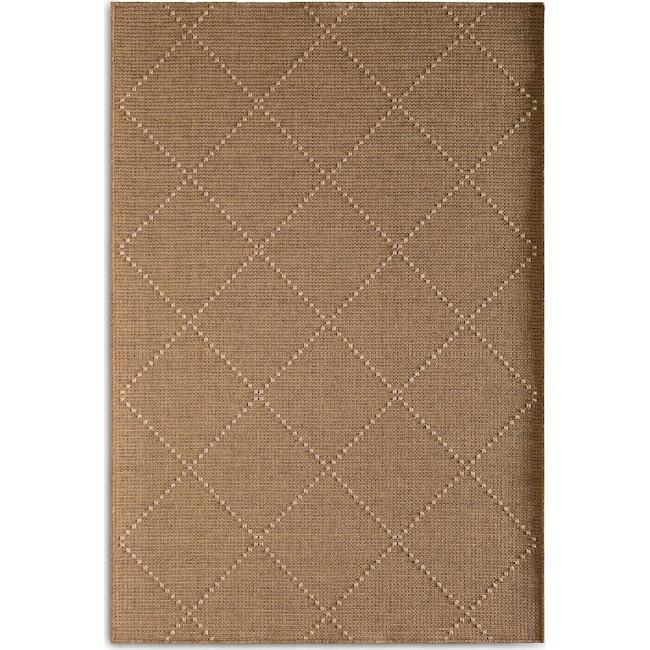 Outdoor Furniture - Crossways Indoor/Outdoor Rug - Brown