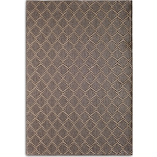 Diamond Indoor/Outdoor Rug - Gray