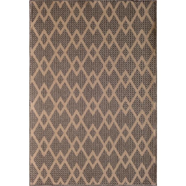 Outdoor Furniture - Palermo 9' x 12' Indoor/Outdoor Rug - Gray