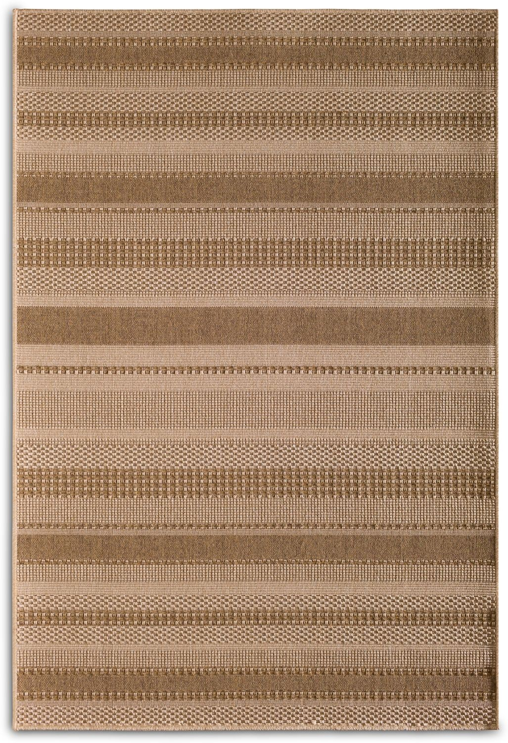 Outdoor Furniture - Stripe Indoor/Outdoor Rug - Natural