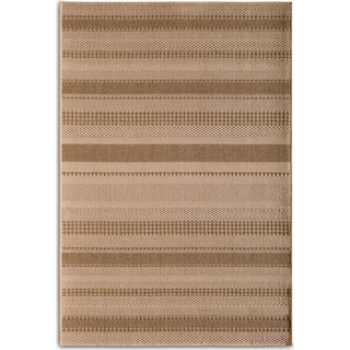 Stripe 9' x 12' Indoor/Outdoor Rug - Natural