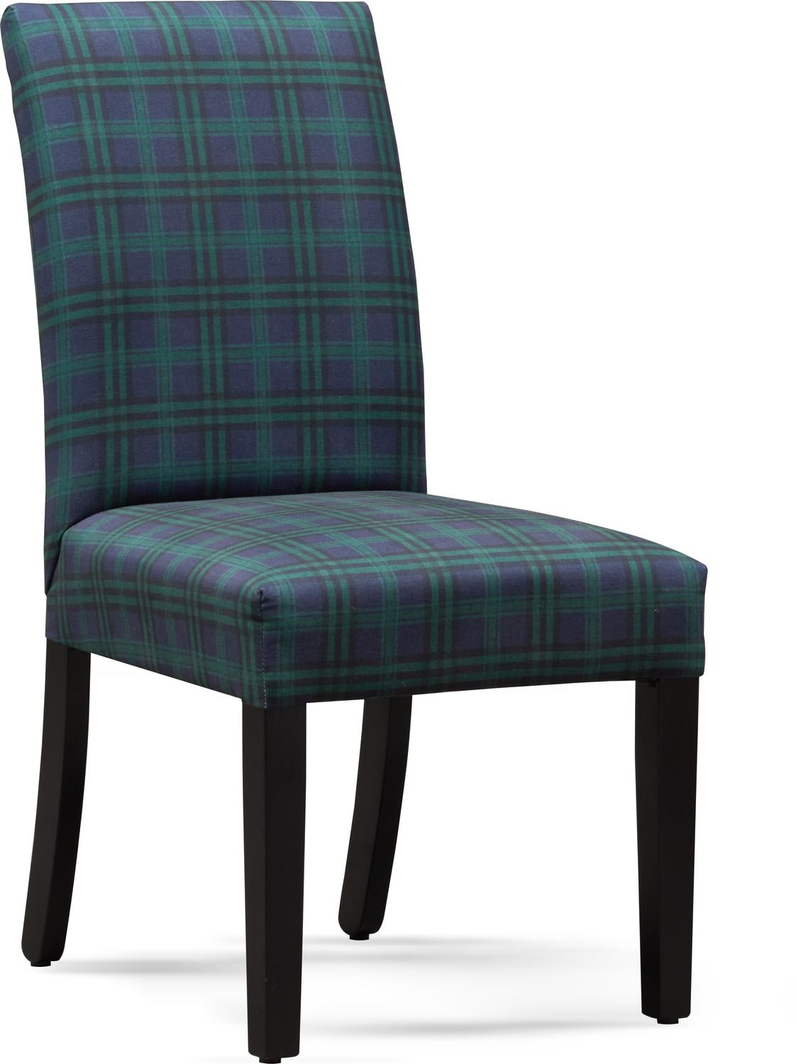 Dining Room Furniture - Adler Upholstered Side Chair - Plaid