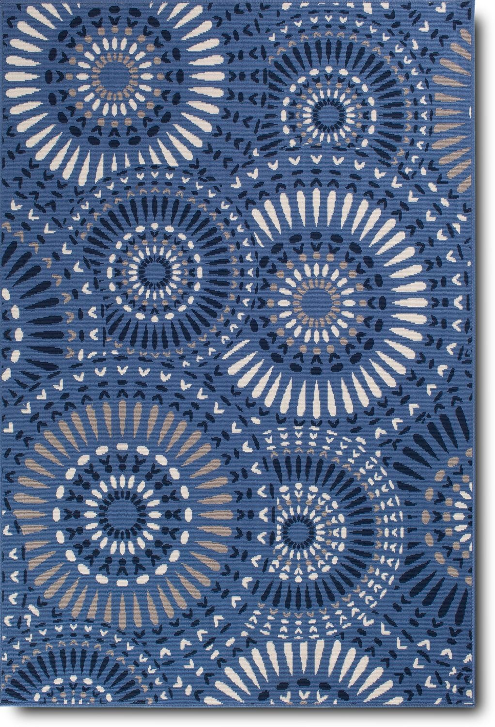 Outdoor Furniture - Dahlia Indoor/Outdoor Rug - Blue Multi