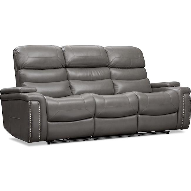 Living Room Furniture - Jackson Triple Power Reclining Sofa