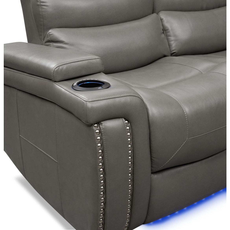 Jackson Triple Power Reclining Sofa And Loveseat Set