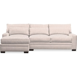 Winston 2-Piece Sectional with Chaise