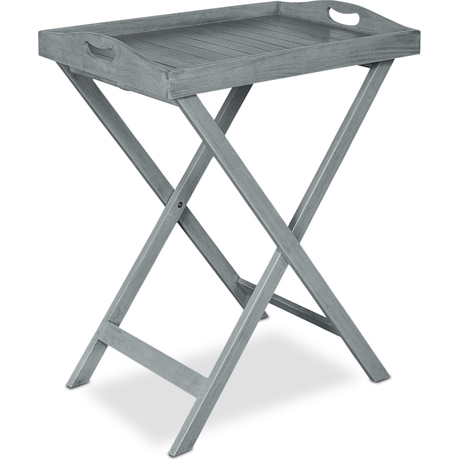Outdoor Furniture - Hampton Beach Outdoor Folding Tray Table