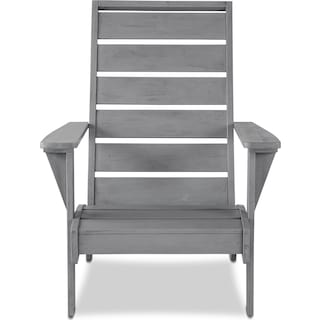 Hampton Beach Outdoor Chair - Gray
