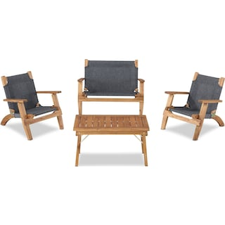 Nantucket 4-Piece Youth Outdoor Set