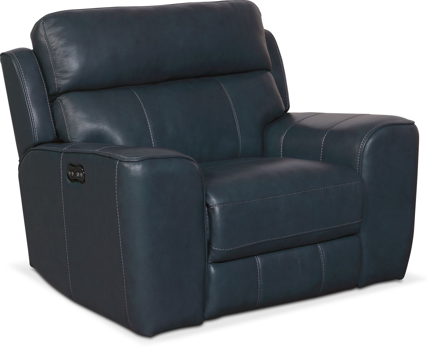 Living Room Furniture - Newport Dual-Power Recliner