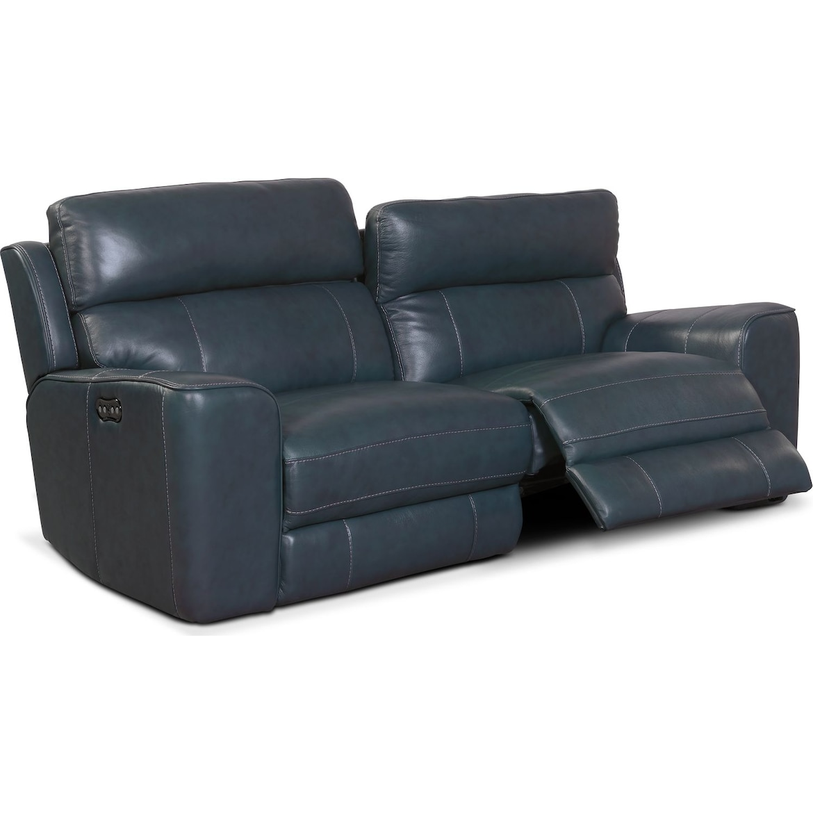 Newport 2 Piece Power Reclining Sofa Value City Furniture And