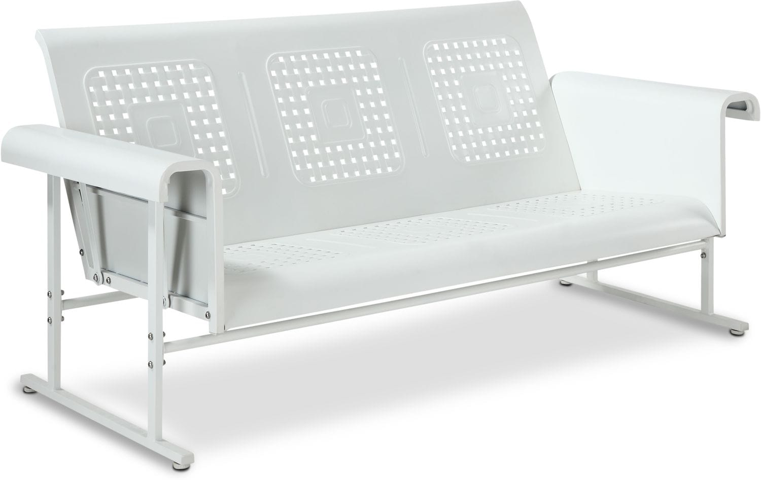Calhoun Outdoor Glider Sofa | Value City Furniture and Mattresses
