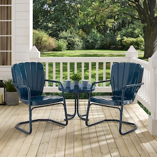 Jack Set of 2 Outdoor Chairs and Side Table