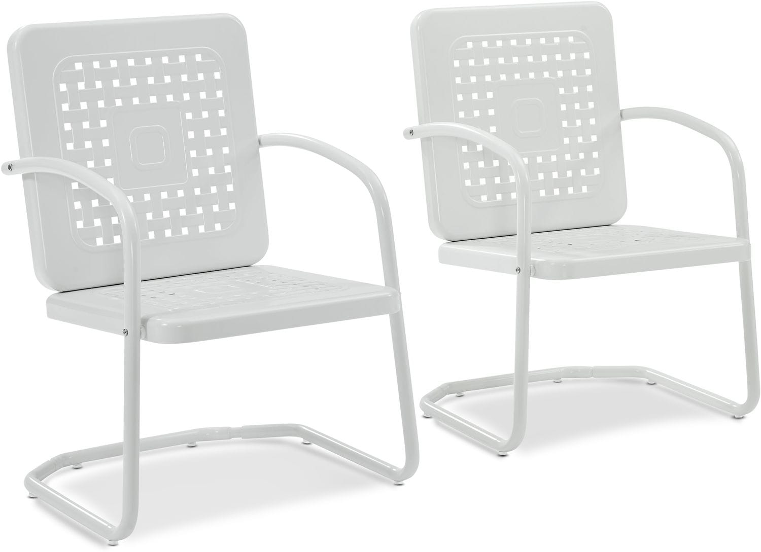 Outdoor Furniture - Preston Set of 2 Outdoor Chairs