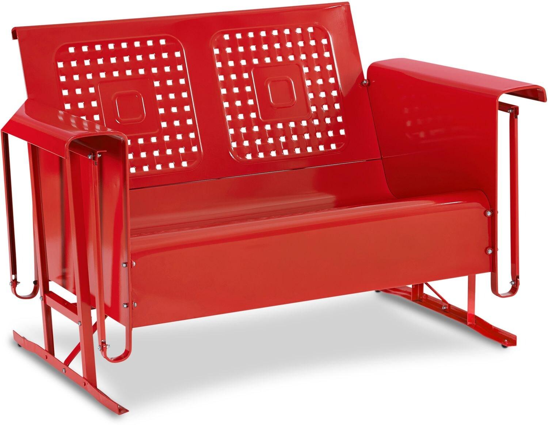 Outdoor Furniture - Foster Outdoor Loveseat Glider