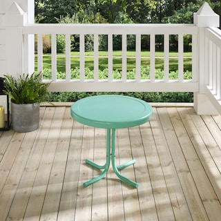Retro Outdoor Side Table