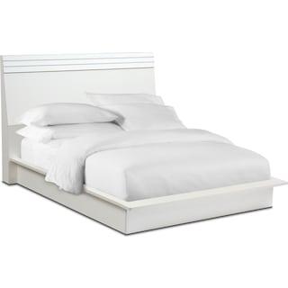 Allori Panel Bed