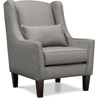 Roxie Accent Chair - Gray