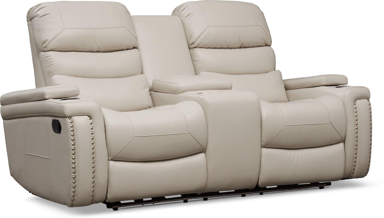 Living Room Furniture - Jackson Manual Reclining Loveseat