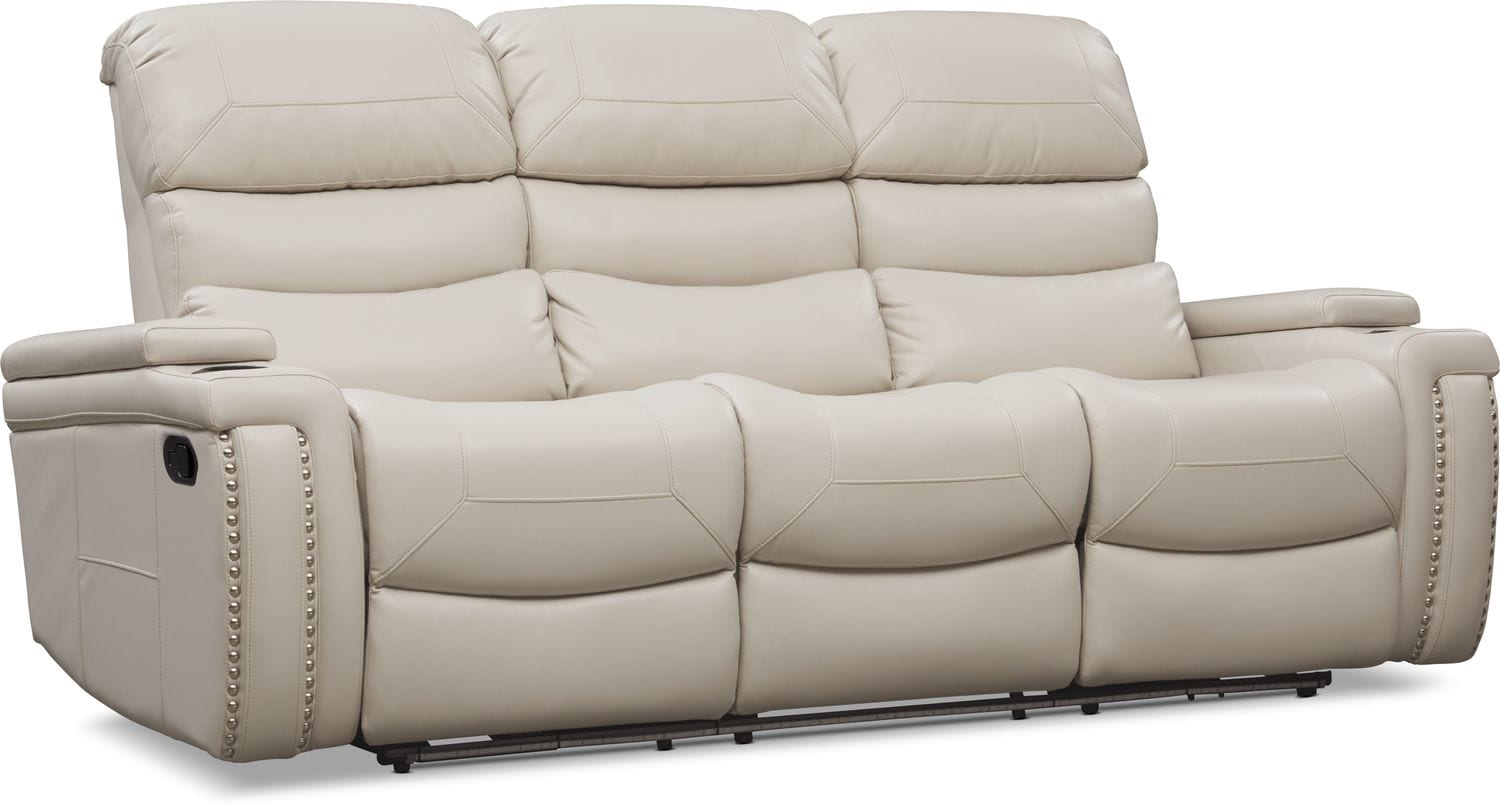 Living Room Furniture - Jackson Manual Reclining Sofa