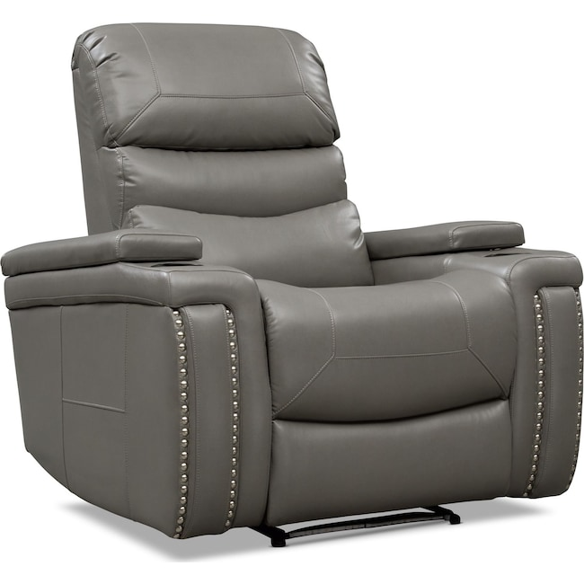 Living Room Furniture - Jackson Triple Power Recliner