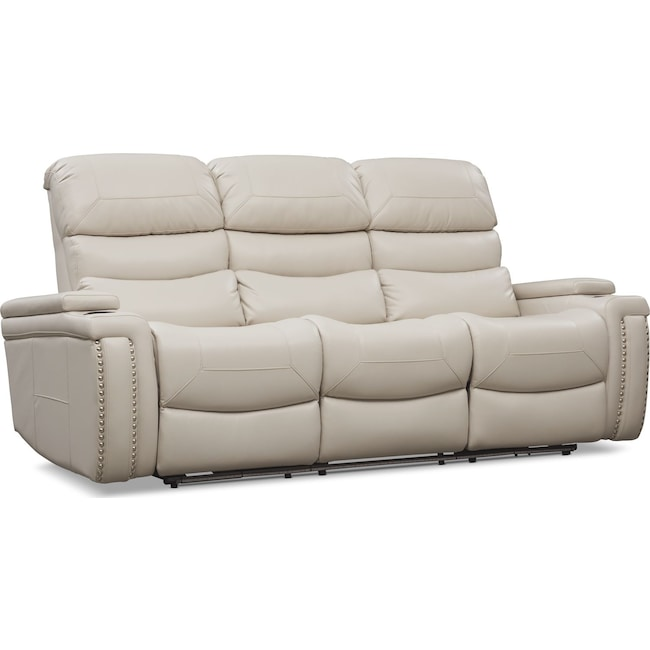 Living Room Furniture - Jackson Triple-Power Reclining Sofa