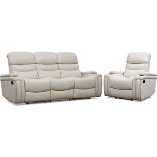 Jackson Manual Reclining Sofa and Recliner Set
