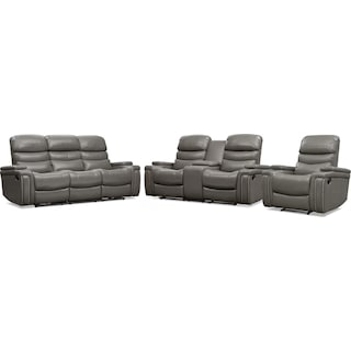 Jackson Manual Reclining Sofa, Loveseat, and Recliner