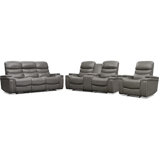 Jackson Triple Power Reclining Sofa, Loveseat, and Recliner Set