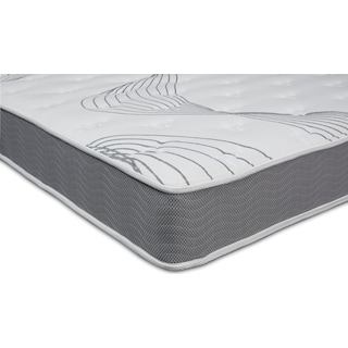 Dream Simple Firm Queen Mattress and Low-Profile Split Foundation