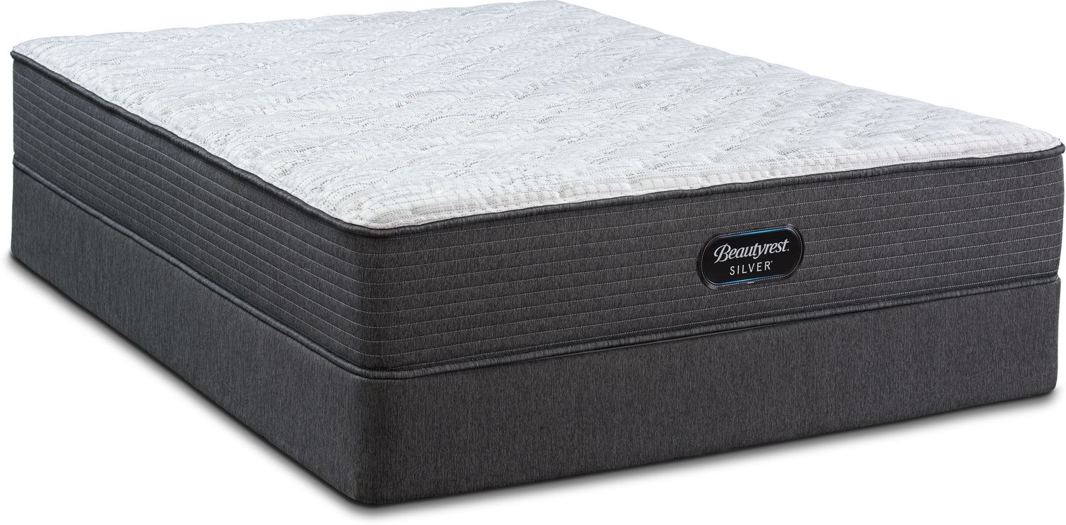 Mattresses and Bedding - BRS900 Rest Firm Queen Mattress and Low-Profile Split Foundation