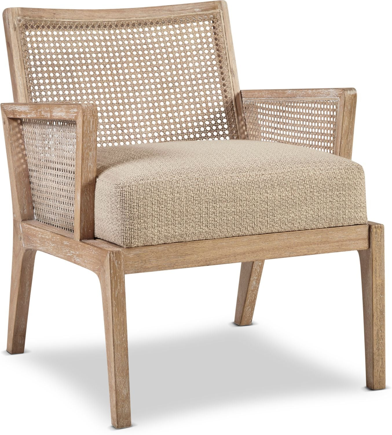 Accent and Occasional Furniture - Amelia Cane Accent Chair